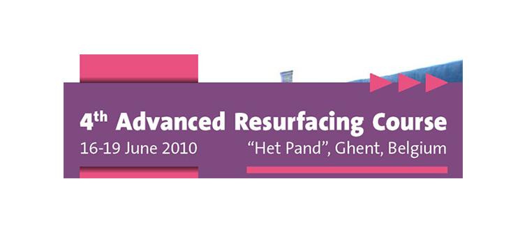 4th Advanced Resurfacing Course