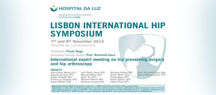 Lisbon International Hip Symposium 2013